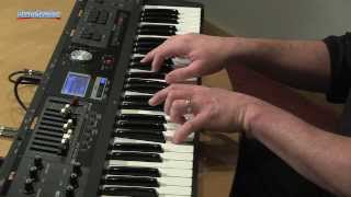 Roland VR-09 Sweetwater Sound Banks Demo by Daniel Fisher