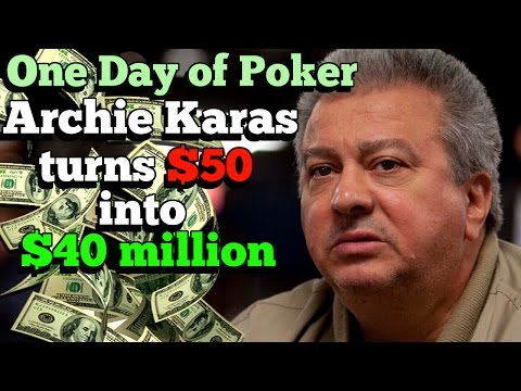 The Days that Saw Archie Karas turn $50 into $40M