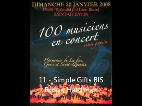 Orchestre d'Harmonie de Saint-Quentin (02) 11 - Simple Gifts (Lord of the dance) BIS 20/01/08