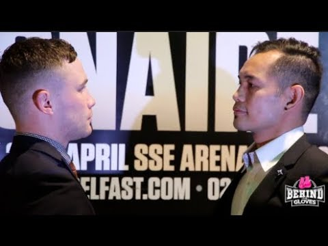 FACE OFF! CARL FRAMPTON AND NONITO IN BELFAST AHEAD OF FEATHERWEIGHT CLASH