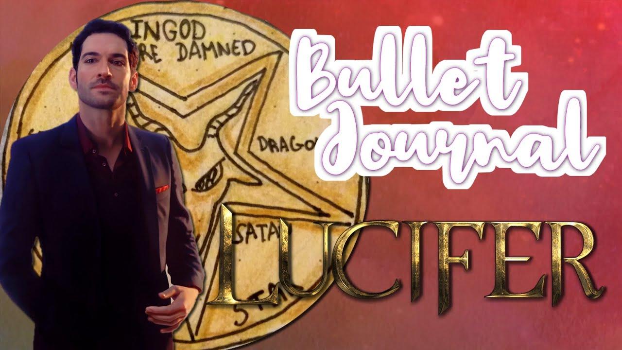 Download ✒️😈  Bullet Journal   LUCIFER !