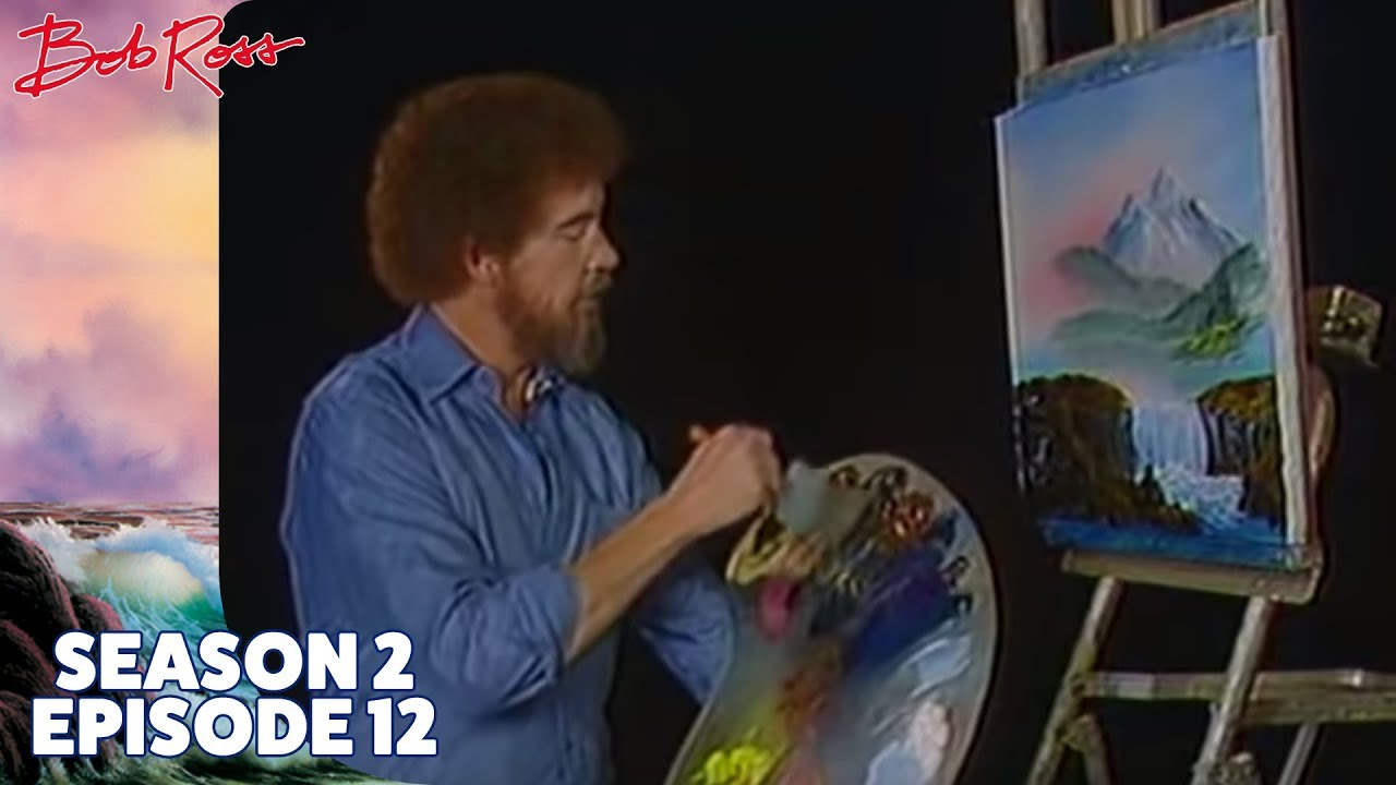 Bob Ross Mountain Waterfall Season 2 Episode 12