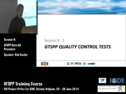 GTSPP Training Course 2014- GTSPP Data QC Procedure, by Bob Keeley
