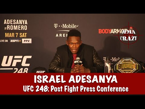 UFC 248: Israel Adesanya Post Fight Press Conference