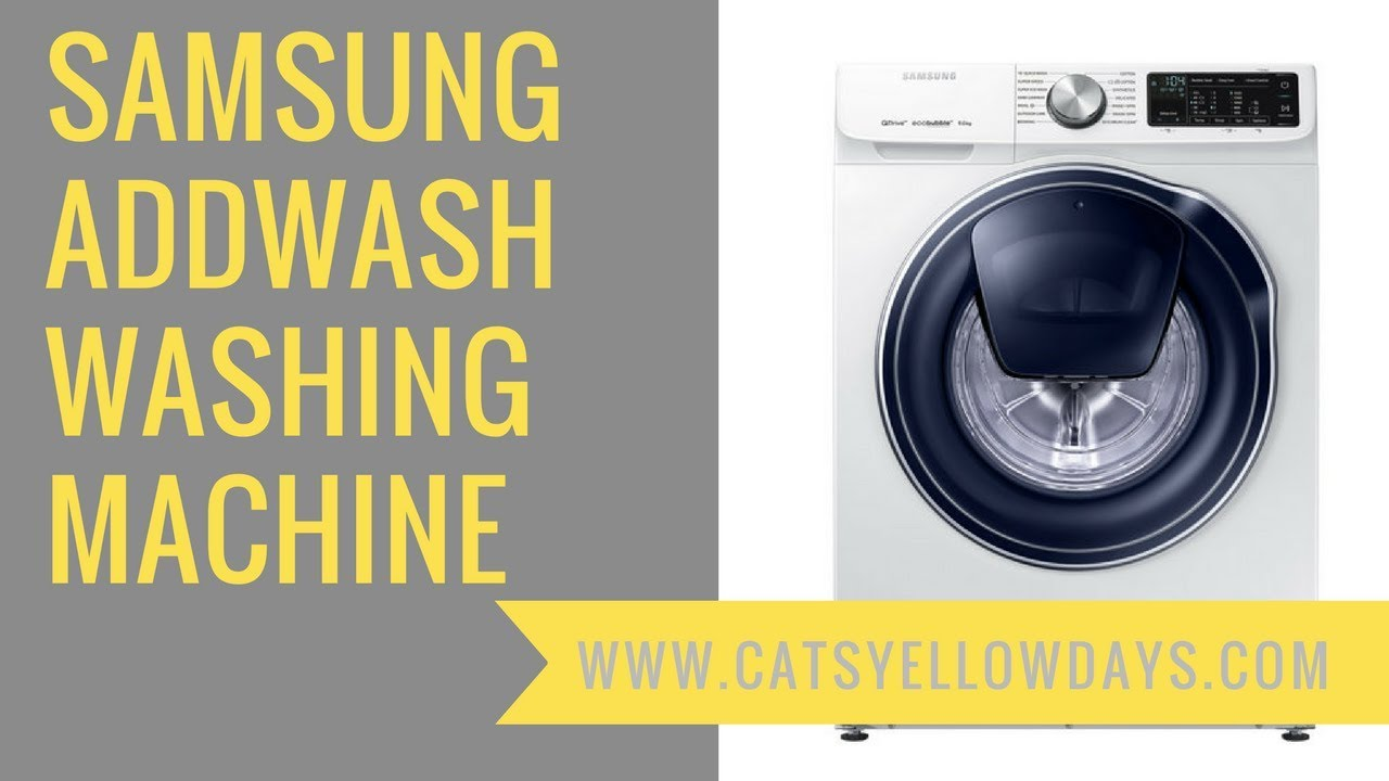 review of samsung ww6500 washing machine with 39 add wash 39 and 39 eco bubble 39 features youtube. Black Bedroom Furniture Sets. Home Design Ideas