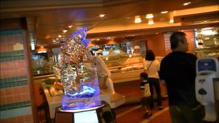 Ice Sculpture Princess Buffet In Hd