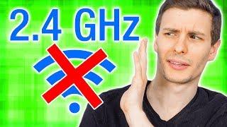 STOP USING 2.4 GHz WiFi ❗
