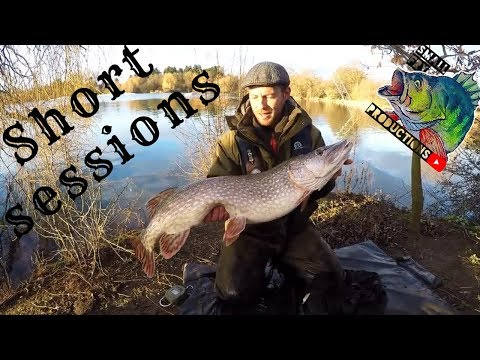 Winter Ticket Pike Fishing Short Sessions Pike To 18lb