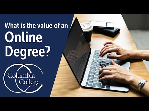 What is the Value of an Online Degree?