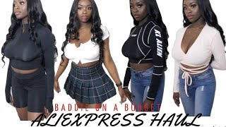 SUMMER BADDIE ALIEXPRESS CLOTHING TRY ON HAUL PART 1 I Baddie On A Budget, Trendy & Affordable