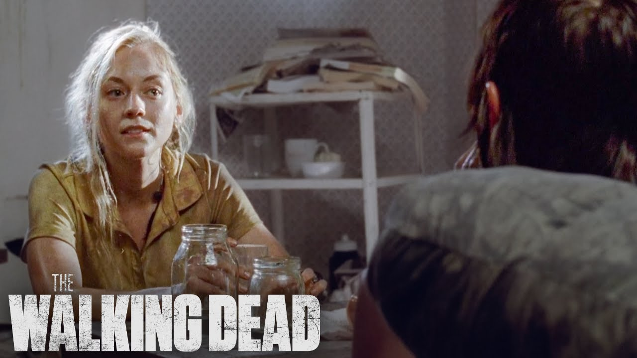 Daryl and Beth Play 'Never Have I Ever'   The Walking Dead Classic Scene