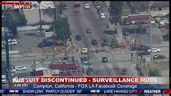 POLICE CHASE: Reckless suspect near Los Angeles - FULL COVERAGE