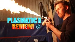 Plasmatic X Electric Arc Lighter Review -- Doubles as a Tazer??
