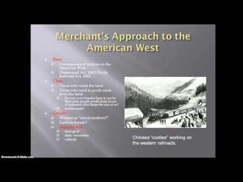 Carolyn Merchant on Environmental History