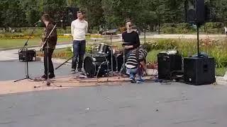 группа Санта Барбара ВДНХ 27.08.2017г. Половинка