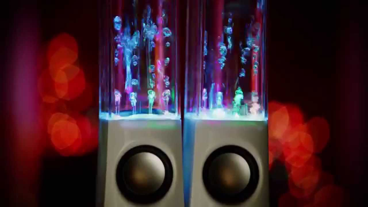 Crazy Lights Magic Water Speakers - YouTube 39eddde63
