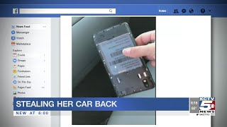 North KC woman hunts down thief who stole her car, steals it back