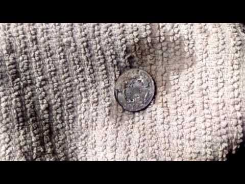 Cleaning a 1903 P Barber Quarter (Not necessarily recommended as it reduces value of coin)