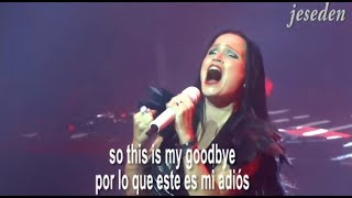 Tarja Turunen - Love to hate (live multicam) sub lirycs