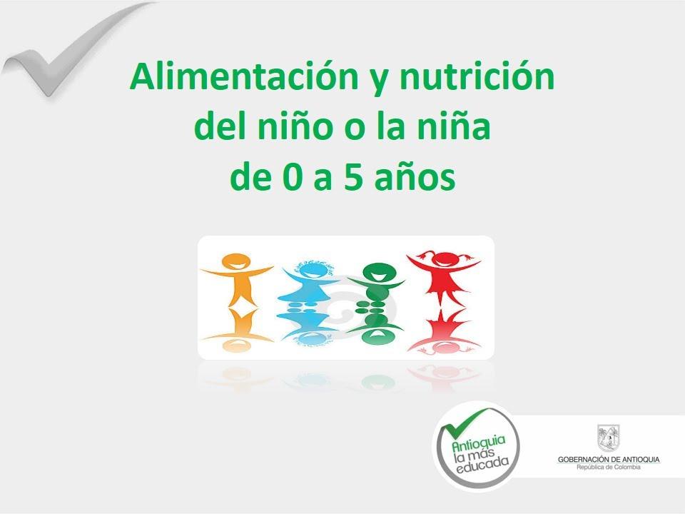 alimentacion de 1 a 5 años pdf