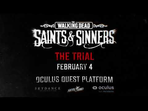 TWDSS - The Trial is coming to Quest on February 4th