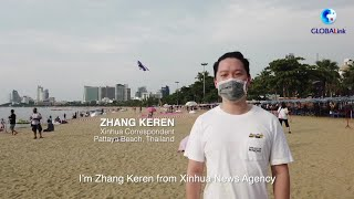 GLOBALink | Kite on the Beach Festival held in Thailand amid pandemic
