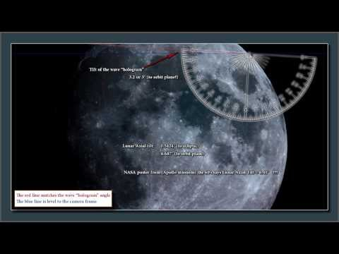 2012 Lunar Wave - Energy Pulse & UFO Found In Clip