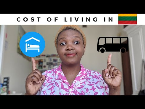 COST OF LIVING IN LITHUANIA ||  Housing, Food, Transportation, etc