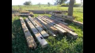 Hand Hewn Beams Available From 6x6-10x10