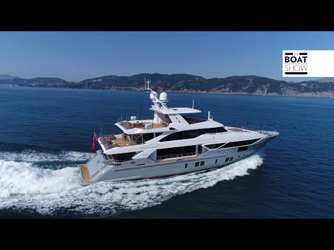 [ENG] BENETTI FAST 125 - ROLLS ROYCE AZIPULL - 4K Full Review - The Boat Show