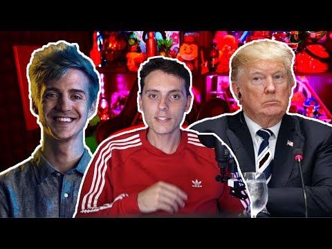 Trump culpa a los Videojuegos y Ninja tiene 1M en Mixer-Wefere NEWS