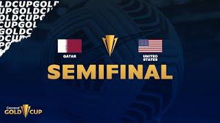 2021 Gold Cup   Qatar vs United States