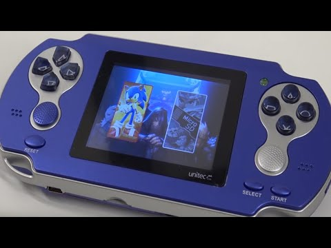SEGA Handheld Review 16-bit Games Ultimate Retro System | Yes we can add games now !