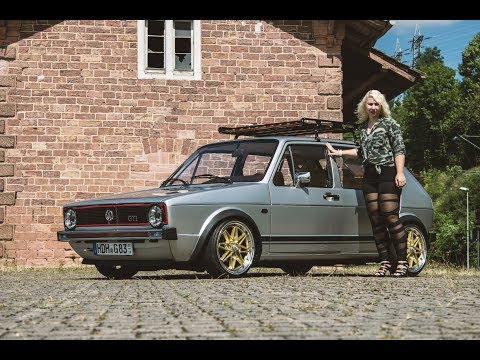 The VW Angel Golf 1 –  Tuning  | Girl Power