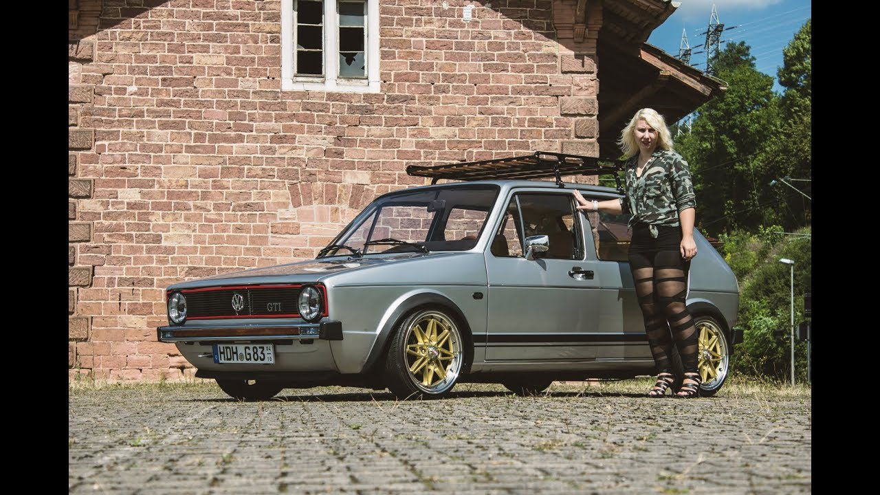 the vw angel golf 1 tuning girl power youtube. Black Bedroom Furniture Sets. Home Design Ideas