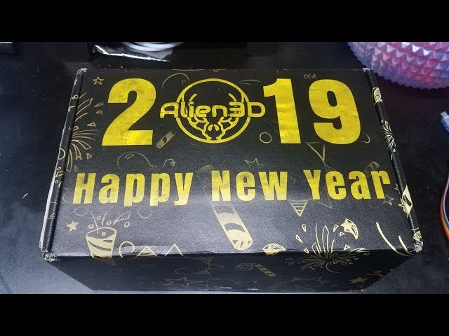 January 2019 Alien3D UFO Monthly Subscription box review