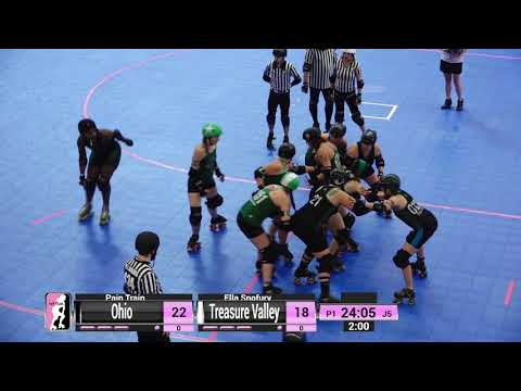 WFTDA Roller Derby - Division 2, Pittsburgh - Game 15 - Ohio vs. Treasure Valley