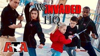 ATA Ambassadors Invade American Taekwondo Assoc. HQ - Vlog