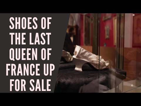 #Marie #Antoinette's silk shoe goes up for sale in #Versailles
