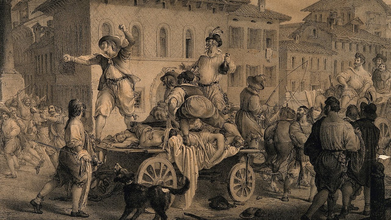 the great plague of london 1665 timeline