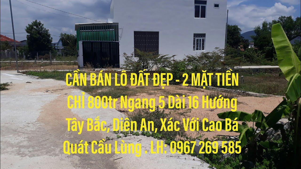 Bán Đất Nền Nha Trang||Ban Lô Đất Nền 800 triệu Xã Diên An Diên Khánh