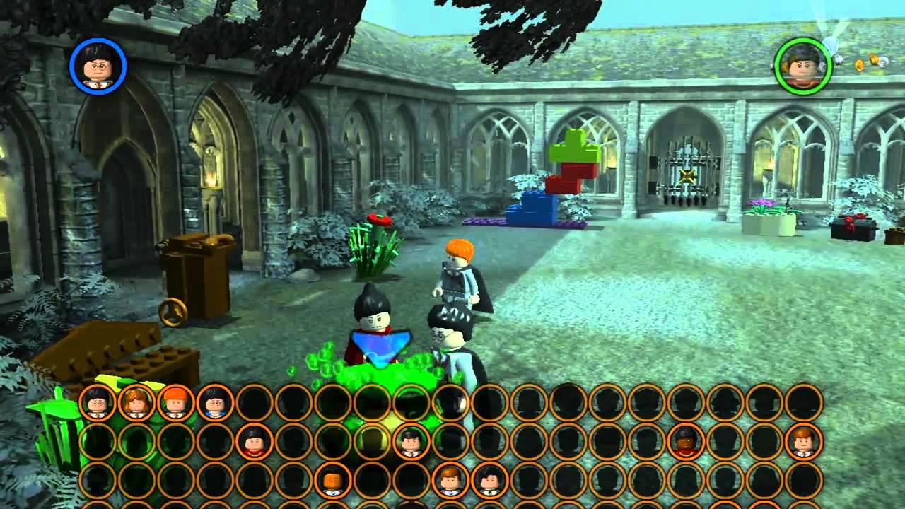 Lets Hex Lego Harry Potter Die Jahre 1 4 No54 Im Eulenturm