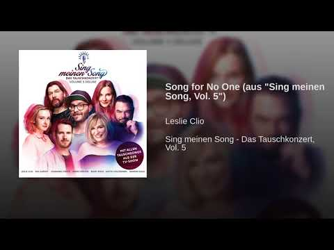 """Song for No One (aus """"Sing meinen Song, Vol. 5"""")"""