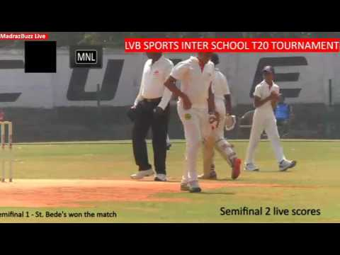 LVB sports Inter-School T20 tournament 25th Jan