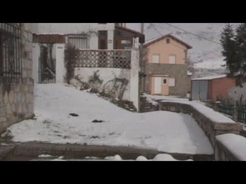 La nieve tiñe de blanco media España
