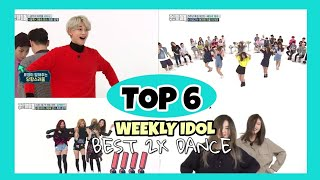 My Favorite Top 6 2x Speed Dance in Weekly Idol (GFRIEND,BLACKPINK,SHINEE,RED VELVET,GOT7) | Kpop MP3