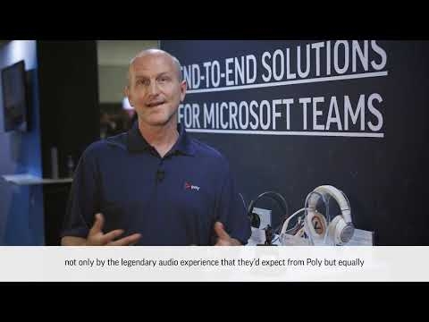 Introducing Poly Headsets at Microsoft Ignite Australia 2020