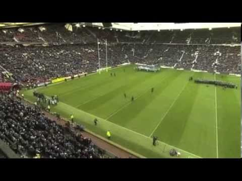 Anthem Jerusalem - Rugby League World Cup Final from Old Trafford 2013