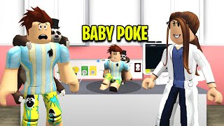 So I Brought Baby Poke To The Doctors Office.. (Roblox)