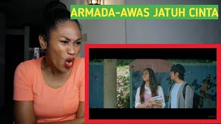 Gambar cover Armada - Awas Jatuh Cinta (Official Music Video) | Reaction